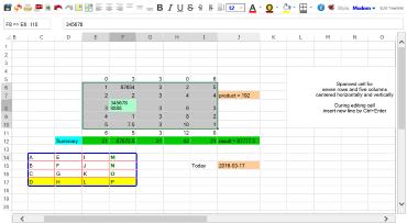 TreeGrid SpreadSheet like online MS Excel sheet   TreeGrid